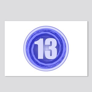 13th Birthday Boy Postcards (Package of 8)