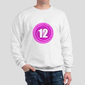 12th Birthday Girl Sweatshirt