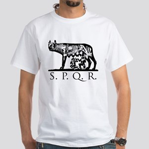 She-Wolf SPQR White T-Shirt