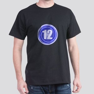 12th Birthday Boy Dark T-Shirt