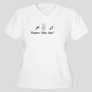 Positive Vibes Only Plus Size T-Shirt