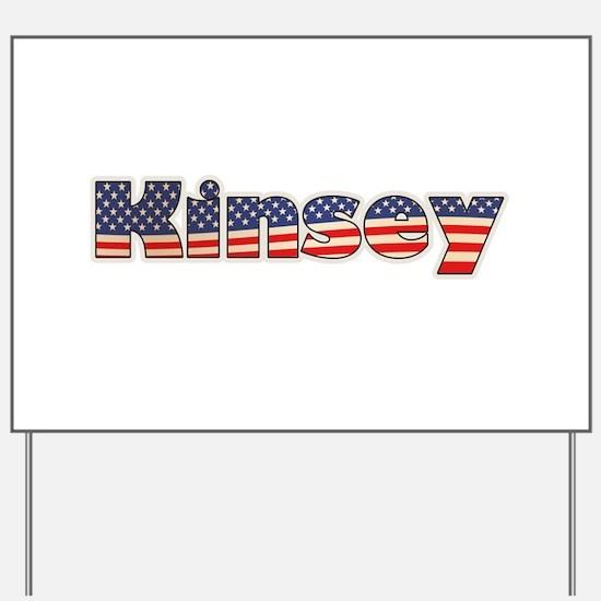 American Kinsey Yard Sign