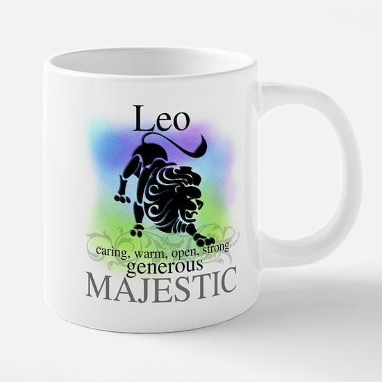 Leo the Lion Zodiac Mugs