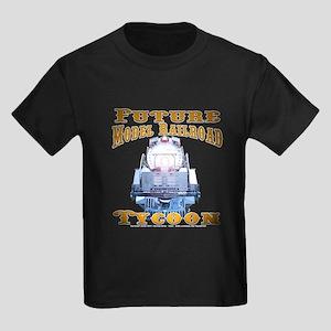Future Model Railroad Tycoon Kids Dark T-Shirt