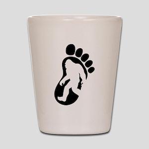 Yeti Footprint Shot Glass