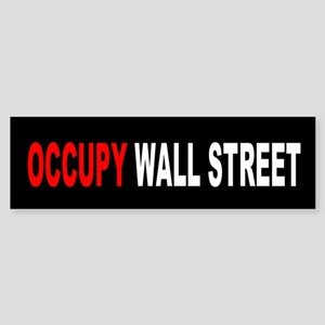 Occupy Wall Street: Bumper Sticker