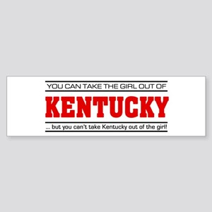 'Girl From Kentucky' Sticker (Bumper)