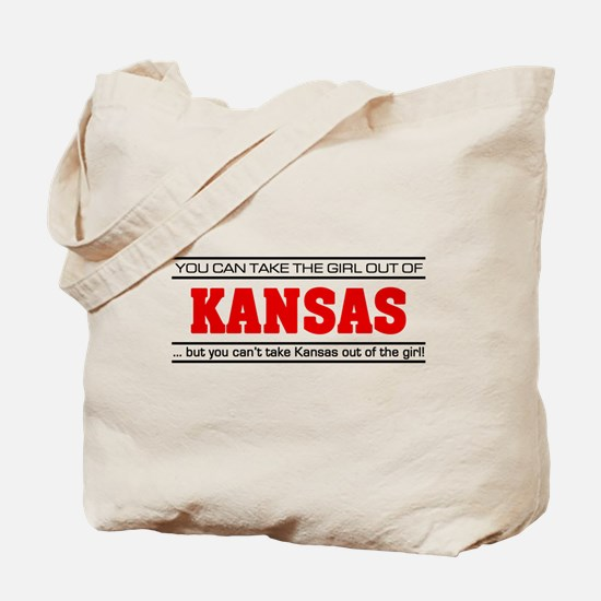 'Girl From Kansas' Tote Bag