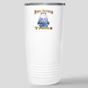 Model Railroad Tycoon Stainless Steel Travel Mug
