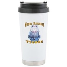 Model Railroad Tycoon Stainless Steel Travel Mug