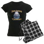 Model Railroad Tycoon Women's Dark Pajamas