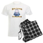 Model Railroad Tycoon Men's Light Pajamas