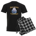 Model Railroad Tycoon Men's Dark Pajamas