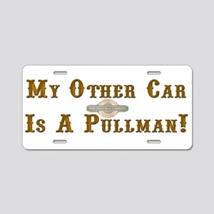 Model Railroad Tycoon Aluminum License Plate