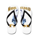 Model Railroad Tycoon Flip Flops