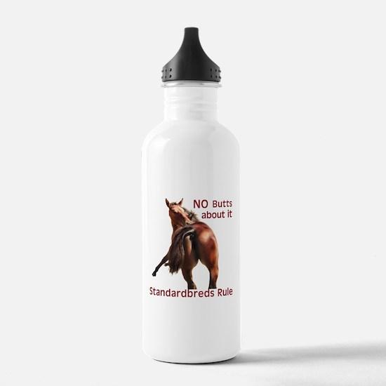 Standardbreds Rule Water Bottle