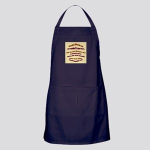 The Lord Is God Apron (dark)