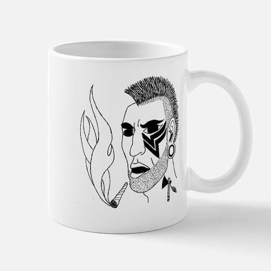 Modern Day Mohawk Mug
