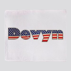 American Devyn Throw Blanket