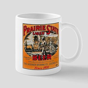Illinois Beer Label 2 Mug