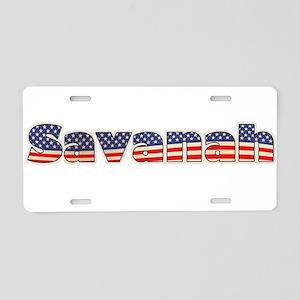 American Savanah Aluminum License Plate