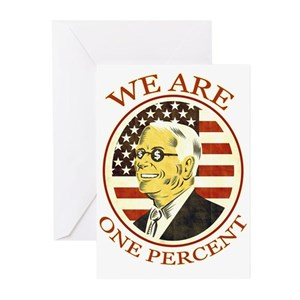 Occupy wall street greeting cards cafepress m4hsunfo
