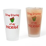 Stop Staring Drinking Glass