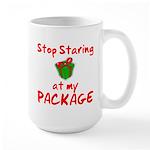 Stop Staring Large Mug