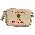 Stop Staring Messenger Bag