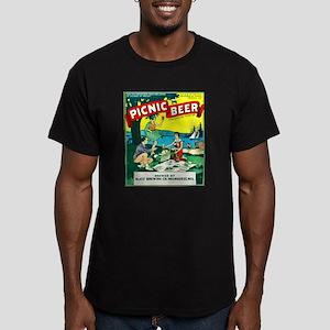 Wisconsin Beer Label 15 Men's Fitted T-Shirt (dark