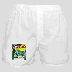 Wisconsin Beer Label 15 Boxer Shorts