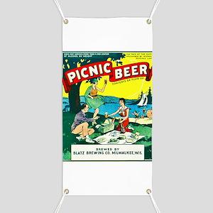 Wisconsin Beer Label 15 Banner