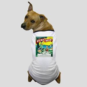 Wisconsin Beer Label 15 Dog T-Shirt