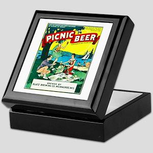 Wisconsin Beer Label 15 Keepsake Box