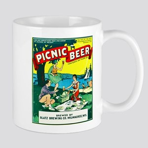 Wisconsin Beer Label 15 Mug