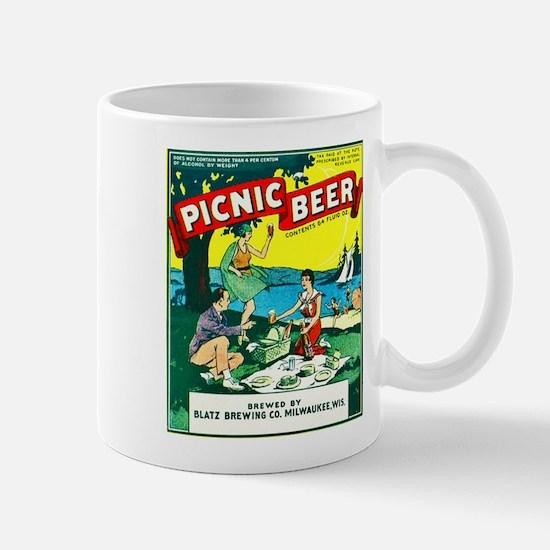 Wisconsin Beer Label 15 Mug