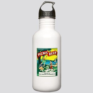 Wisconsin Beer Label 15 Stainless Water Bottle 1.0