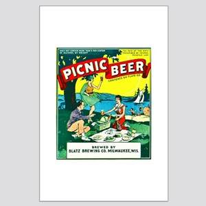 Wisconsin Beer Label 15 Large Poster