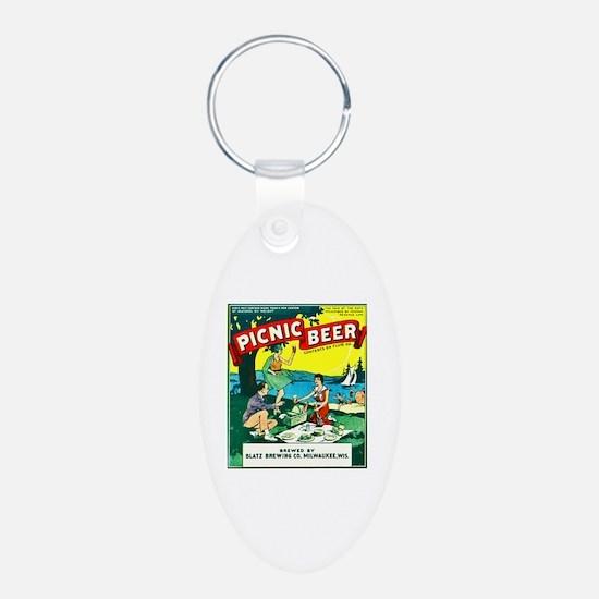 Wisconsin Beer Label 15 Keychains
