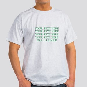 Customized Personalized Green Light T-Shirt