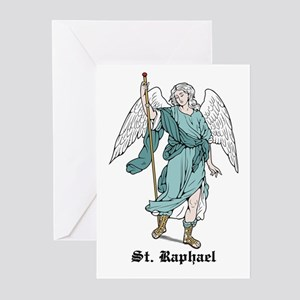 St. Raphael Greeting Cards (Pk of 10)