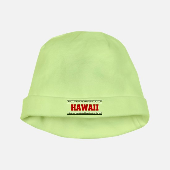 'Girl From Hawaii' baby hat