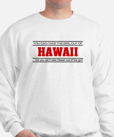'Girl From Hawaii' Sweatshirt