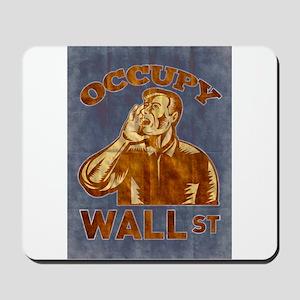 Occupy Wall Street Mousepad