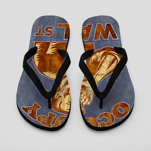 Occupy Wall Street Flip Flops
