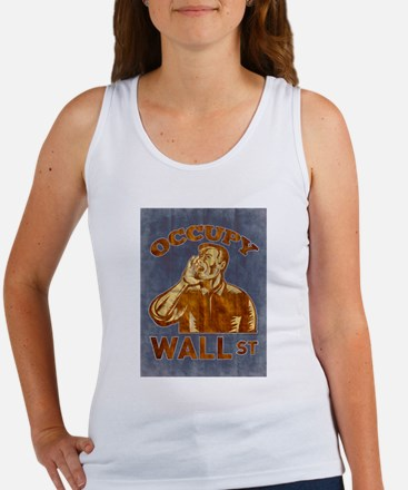 Occupy Wall Street Women's Tank Top