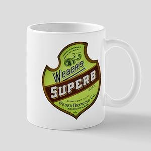 Wisconsin Beer Label 8 Mug