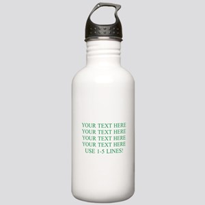 Customized Personalize Stainless Water Bottle 1.0L