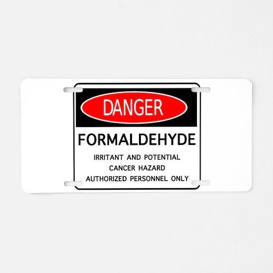 Cute Embalmer Aluminum License Plate