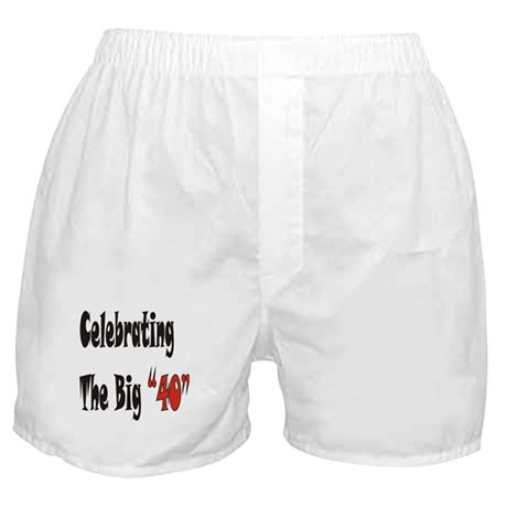 The Big 40 Boxer Shorts